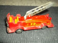 Vintage Toy Metal Car-Fire Truck 6�x3�x3.5�approx./R ed metal + Red Plastic parts