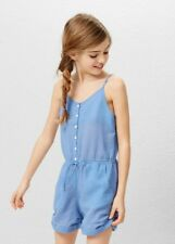 Girls cotton short jumpsuit  size 13-14y  164cm new,mango .