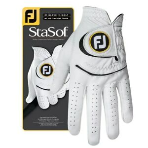 NEW FootJoy StaSof Cabretta Leather Golf Gloves - Size, Color, Dexterity & Size!