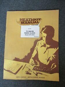 HEATHKIT Assembly Manual for TV/AM-FM RADIO CLOCK Model GR-5005 (1982)
