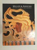 Catálogo De Venta Millon & Asociado Art Nuevo Art Deco Drouot Octubre 2010