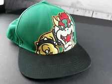 Super Mario Brothers Bowser King Koopa snapback hat