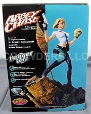 "Danger Girl ABBEY CHASE 12"" Dangerous Cold Cast Statue Previews Exclusive DBoy"