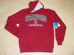 STANFORD CARDINALS  Hooded EMBROIDERED Sweatshirt NEW  CHAMPION  sz  ...  LARGE