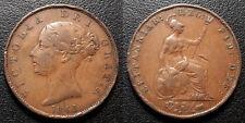 Royaume-Uni - VIctoria - 1/2 penny 1841 - KM#726