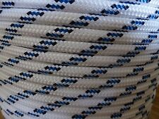 "3/8"" x 100 ft. Double Braid~Yacht Braid polyester rope.Sailboat Line. US Made."