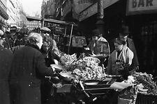 PARIS 1935 - Marché Marchand Légumes Bar Américain - Négatif 24x36 - 28-6