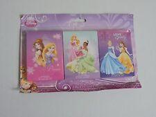 Disney Princess 3 Pack 8 Count Crayons Belle Cinderella Sleeping Beauty NEW