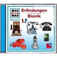 WAS IST WAS - FOLGE 41: ERFINDUNGEN/BIONIK  CD HÖRSPIEL NEU