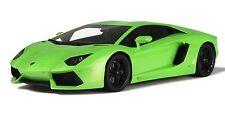 LAMBORGHINI AVENTADOR GREEN GT SPRIN KYOSHO  1/12 GT752