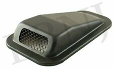 LAND ROVER DEFENDER AIR INTAKE TOP WING BLACK STEEL LH / DRIVER SIDE
