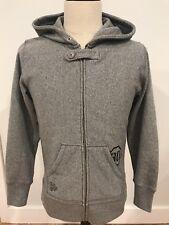 LNWOT Maiden Noir Mens Hoodie Sweatshirt Gray Size Medium