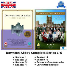Downton Abbey Series 1-6 ITV Award Winning Drama Complete 1 2 3 4 5 6 New UK DVD