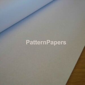 Sewing Pattern Paper PLAIN for Drafting Designs Dressmaking - 20m ** ON A ROLL**