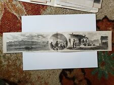William Brownlow Knoxille Whig Loudon Va Bridge 1864 Civil War Sketch Print