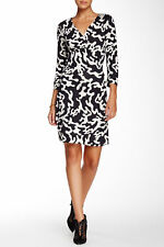 SZ 12 Diane von Furstenberg Firebird New Julian Two Silk Dress NWT $398