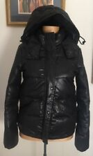 ALL SAINTS Wilkin Jacket Black Hoodie Bomber Down Puffa Puffer Rrp £495
