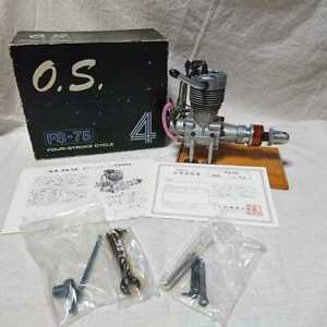 O.S. FS-75 Ogawa 4-cycle airplane Engine OS