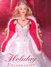 Barbie 2001 Holiday Celebration~ Christmas~ Snowflake Dress~ Real Nice Box~ b