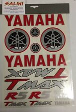 Foglio adesivi T MAX YAMAHA rosso