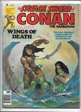 """SAVAGE SWORD OF CONAN #19 [1977 NM-] """"WINGS OF DEATH"""""""