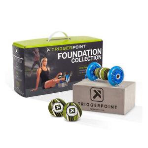 Trigger Point Foundation Kit - 2 TP Massage Balls, Footballer and Baller Block