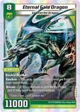Kaijudo X1 ETERNAL GAIA DRAGON Super Rare S5/S10 15VTX Vortex DUEL MASTERS 2014