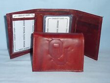 OKLAHOMA SOONERS   Leather TriFold Wallet   NEW   dkb z ins