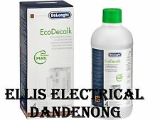 ECODECALK DELONGHI Descaler Decalcifier Liquid for Coffee /  Espresso Machines