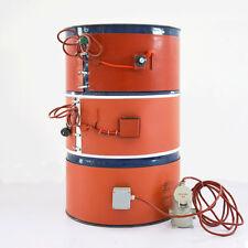 110V Temperature Control Oil Drum Heater 254*1207*1.8mm 1.9Kw