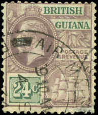 British Guiana Scott #197 Used  Air Mail Cancel