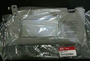 GENUINE KIA Sportage 2005-2010 LH Sun Visor GREY - 85202 1F210LX