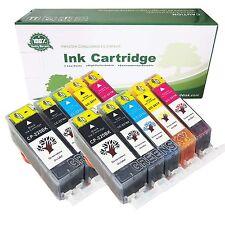 10 PACK PGI-220 CLI-221 Ink Tank for Canon Printer Pixma MX860 MX870 MP560
