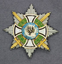 German Star of the Grand Cross of the Hohenzollern with pin and catch