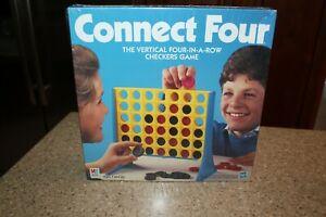 Milton Bradley Connect Four Game Sealed 1998 NEW