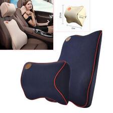 Memory Foam Pillow Neck Headrest Back Lumber Support Car Travel Soft Cushion