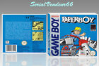 """BOITIER du jeu """"PAPERBOY"""", GAME BOY. Nintendo. PAL FR. HD. SANS LE JEU."""