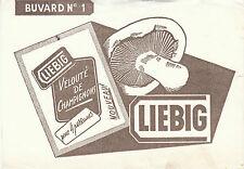 Buvard Vintage  Velouté de Champignons Liebig