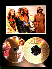 Led Zeppelin Picture Disc & Etched Lyrics CD - Whole Lotta Love - USA Ships Free