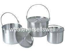 Billy can camping famille cuisine pots pan set cook cookware casseroles nesting