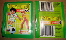HOLLY E BENJI STICKERS BUSTINA FIGURINE MERLIN COLLECTIONS 1995