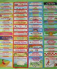 60 Kindergarten First Grade Beginning Learn to Read Childrens Books Lot Set NEW