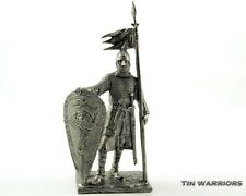 Norman knight 11cen Tin toy soldiers. 54mm miniature figurine. metal sculpture