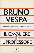 Bruno Vespa = IL CAVALIERE E IL PROFESSORE 1a