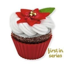 HALLMARK 2010  Christmas CUPCAKE Baking Ornament  Oh So Sweet! 1st #1 in Series