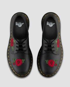 Dr Martens 1461 Vonda Black 24723001 Softy T 3 Eyelet Leather Shoes UK 5 & 6