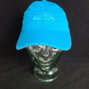 NWOT Teal Blue Reebok NFL Seattle Seahawks women's baseball hat