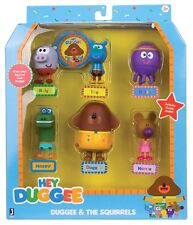 Hey Duggee Figurine Set - 6 Character Figurines