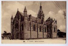 Niort, Deux-Sévres, France vintage Postcard CPA - Eglise St-Hilaire