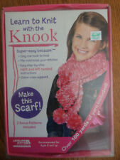 NEW Learn to Knit with the Knook Kit Yarn & Instructions 8+ years